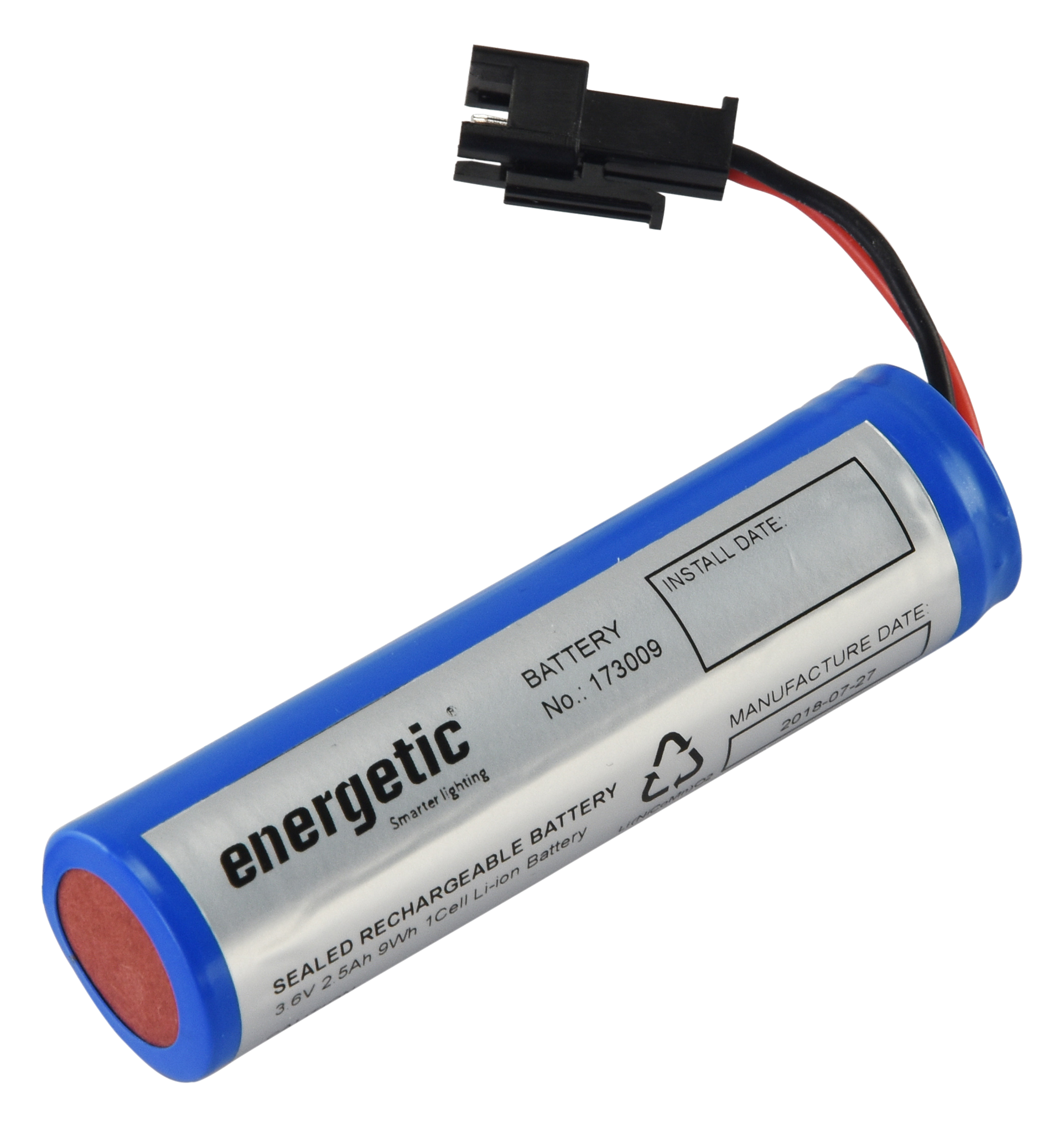 Emergency Downlight Battery Lithium Battery (3.6V)