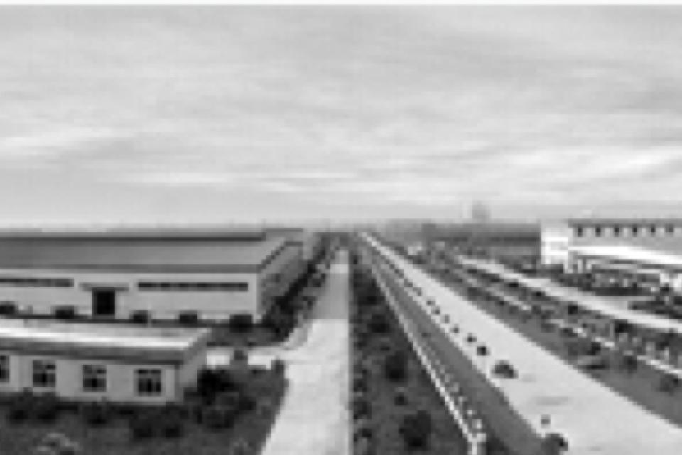 Energetic lighting factory road 1975