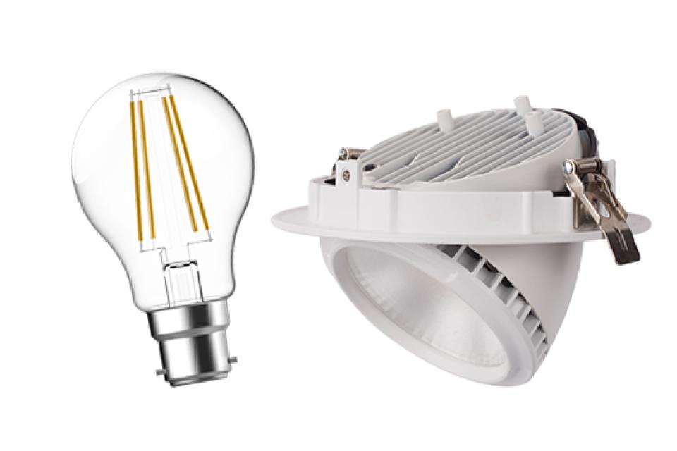 energetic lighting LED luminaire 2013