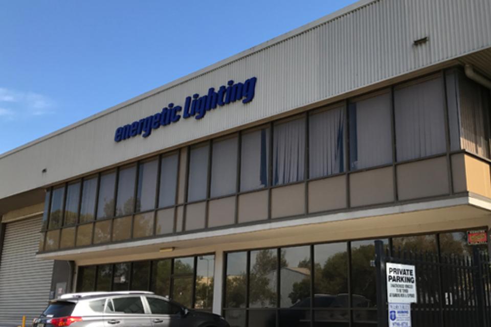 Energetic lighting LED Warehouse 2014