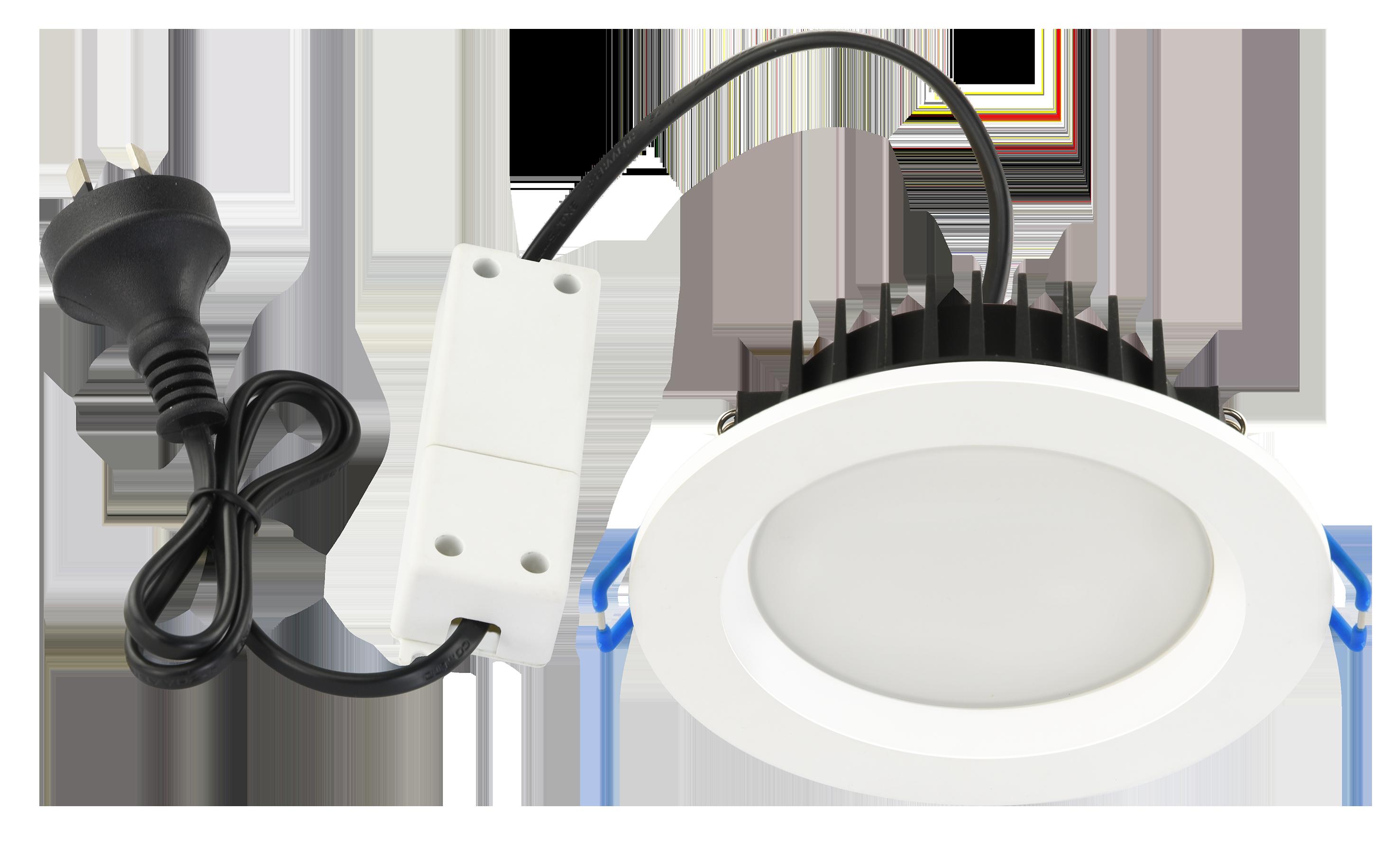 TriValite Downlight with Remote Driver (Tri-colour, White, Recessed)